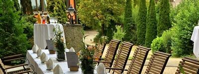 Gartenmöbel wetterfest Robinienholz